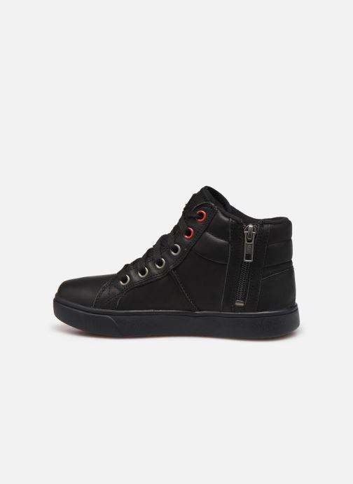 Sneakers UGG Boscoe Sneaker Leather K Nero immagine frontale