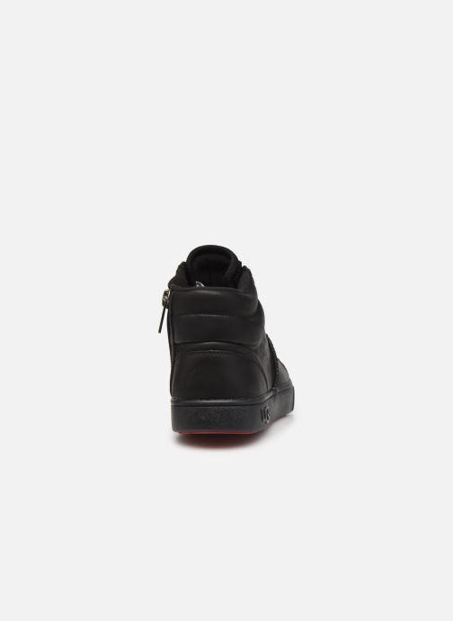 Deportivas UGG Boscoe Sneaker Leather K Negro vista lateral derecha