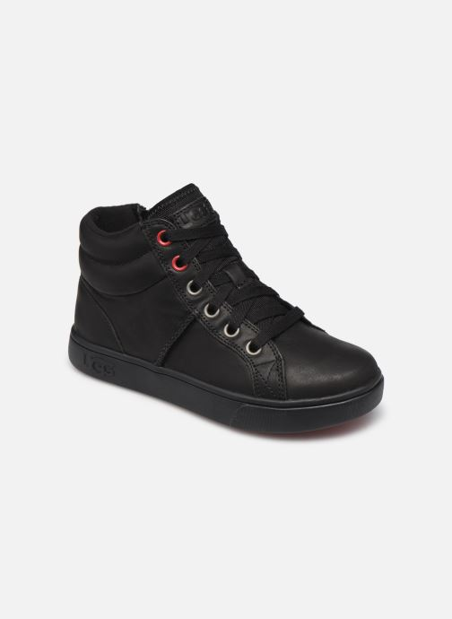 Deportivas UGG Boscoe Sneaker Leather K Negro vista de detalle / par