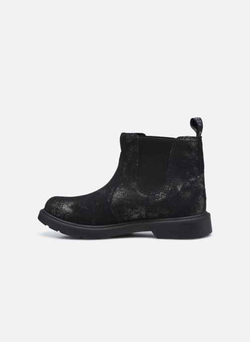 Stiefeletten & Boots UGG Bolden K silber ansicht von vorne