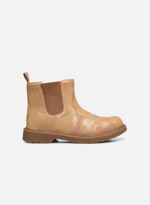 Stiefeletten & Boots UGG Bolden K gold/bronze ansicht von hinten