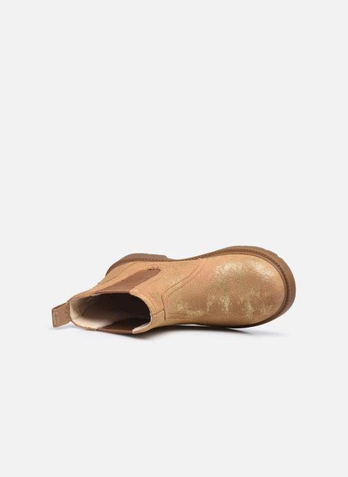 Stiefeletten & Boots UGG Bolden K gold/bronze ansicht von links