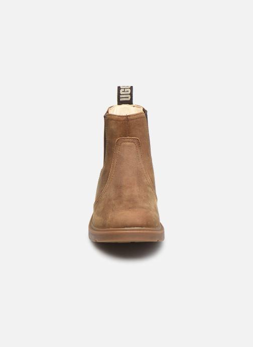 Bottines et boots UGG Bolden K Marron vue portées chaussures