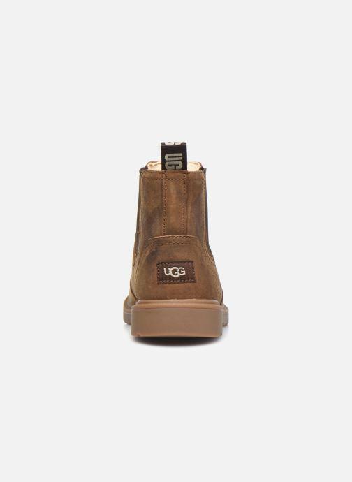 Bottines et boots UGG Bolden K Marron vue droite