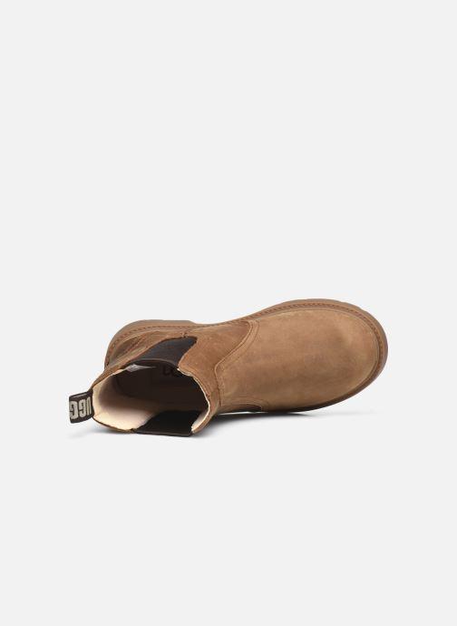 Bottines et boots UGG Bolden K Marron vue gauche