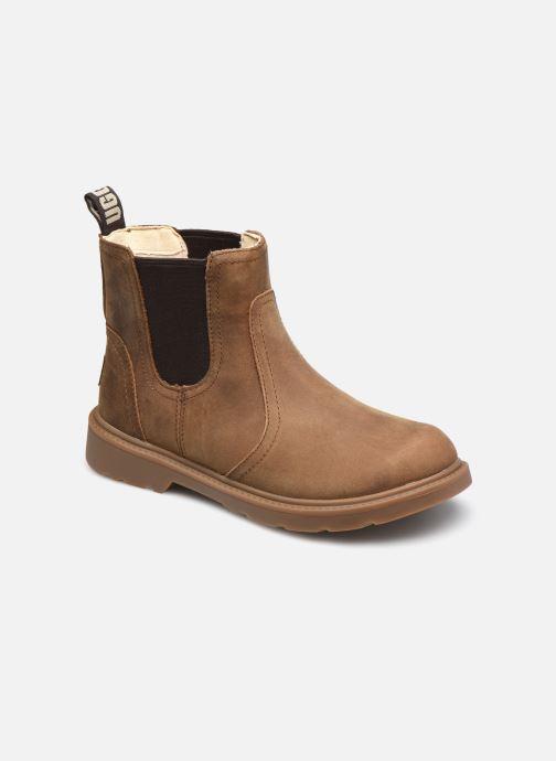 Bottines et boots UGG Bolden K Marron vue détail/paire