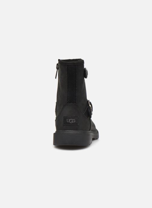 Bottines et boots UGG Kinzey K Noir vue droite