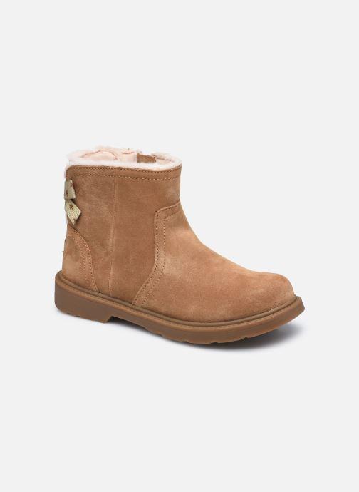 Bottines et boots UGG Lynde Marron vue détail/paire