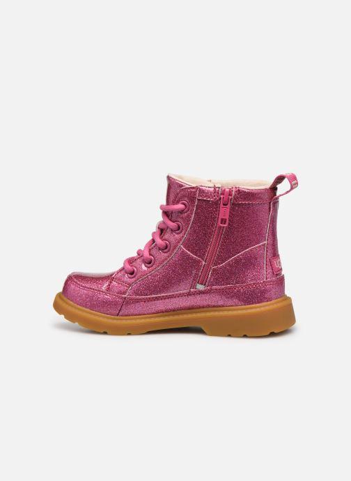 Stiefeletten & Boots UGG Robley Glitter rosa ansicht von vorne