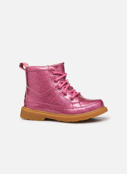 Stiefeletten & Boots UGG Robley Glitter rosa ansicht von hinten