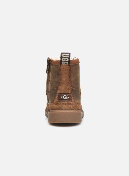 Bottines et boots UGG Robley Weather Marron vue droite