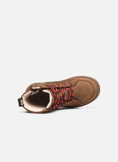 Stiefeletten & Boots UGG Robley Weather braun ansicht von links