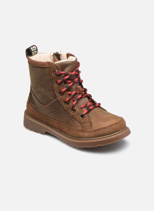 Bottines et boots UGG Robley Weather Marron vue détail/paire