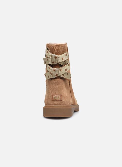 Stiefeletten & Boots UGG Tillee braun ansicht von rechts