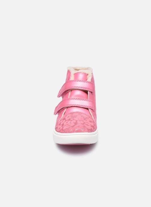 Sneakers UGG Rennon II Glitter Leopard Pink se skoene på