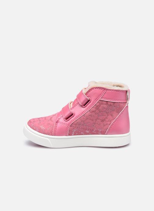 Sneakers UGG Rennon II Glitter Leopard Pink se forfra