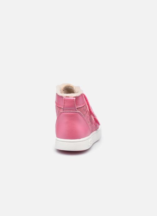 Sneakers UGG Rennon II Glitter Leopard Pink Se fra højre