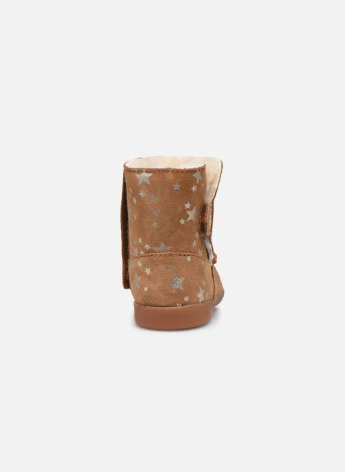 Stiefel UGG Keelan Stars T braun ansicht von rechts