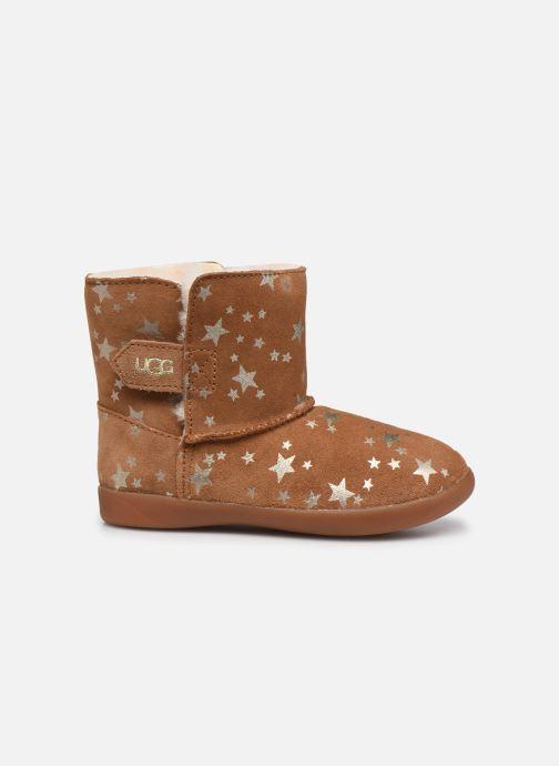 Stiefel UGG Keelan Stars T braun ansicht von hinten