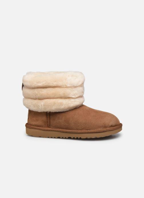 Stiefel UGG Mini Quilted Fluff braun ansicht von hinten