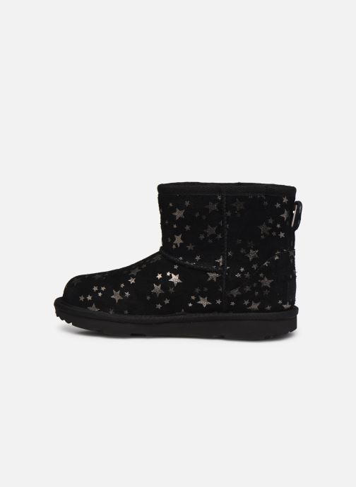 Stiefel UGG Classic Mini II Stars schwarz ansicht von vorne