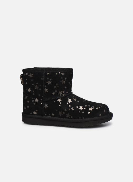 Stiefel UGG Classic Mini II Stars schwarz ansicht von hinten