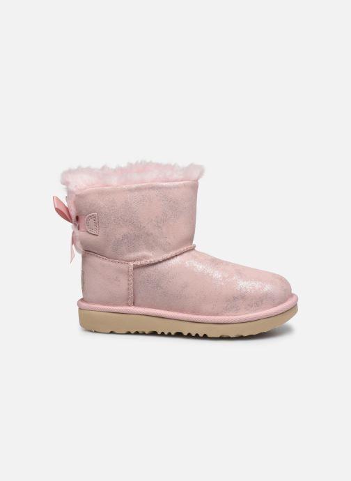 Stiefel UGG Mini Bailey Bow II Shimmer rosa ansicht von hinten