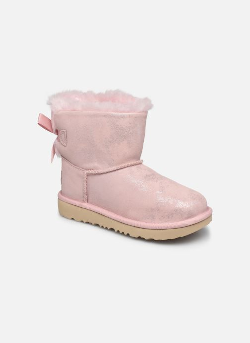 Stiefel UGG Mini Bailey Bow II Shimmer rosa detaillierte ansicht/modell