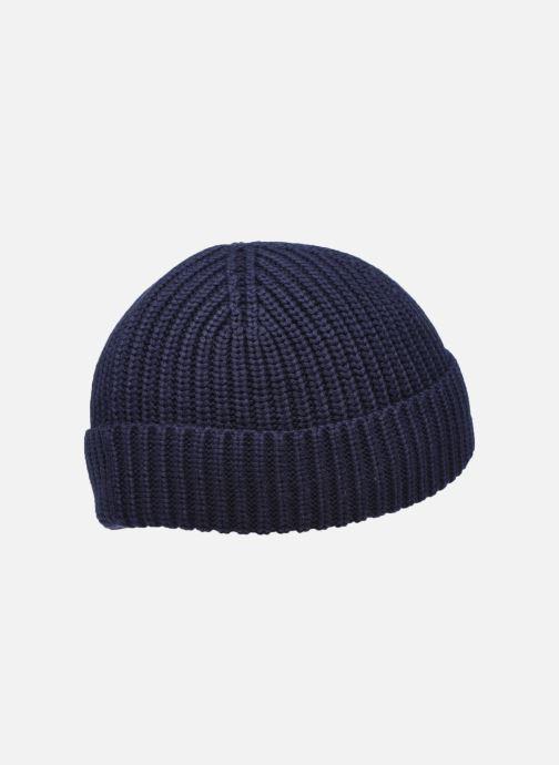 Berretto Lacoste Bonnet Kids Rb53 Azzurro modello indossato