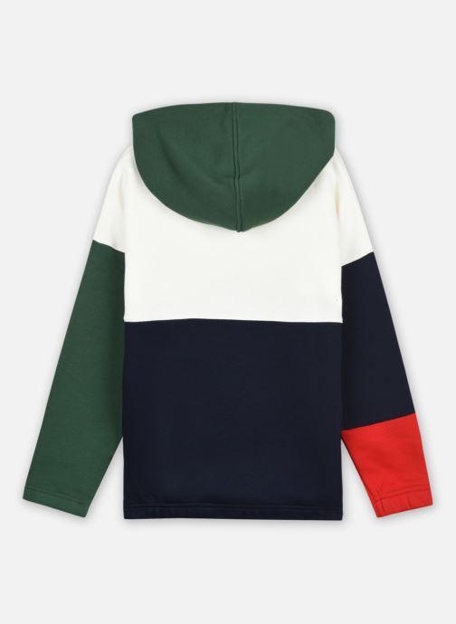 Vêtements Lacoste Sweat-Shirt Enfant Sj31 Vert vue portées chaussures