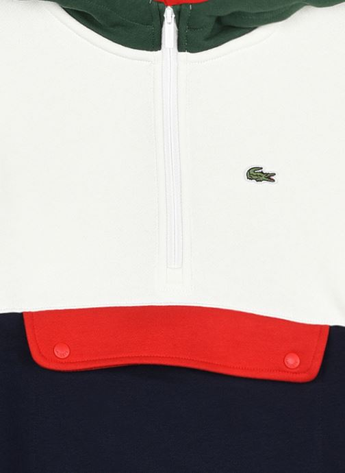 Vêtements Lacoste Sweat-Shirt Enfant Sj31 Vert vue face