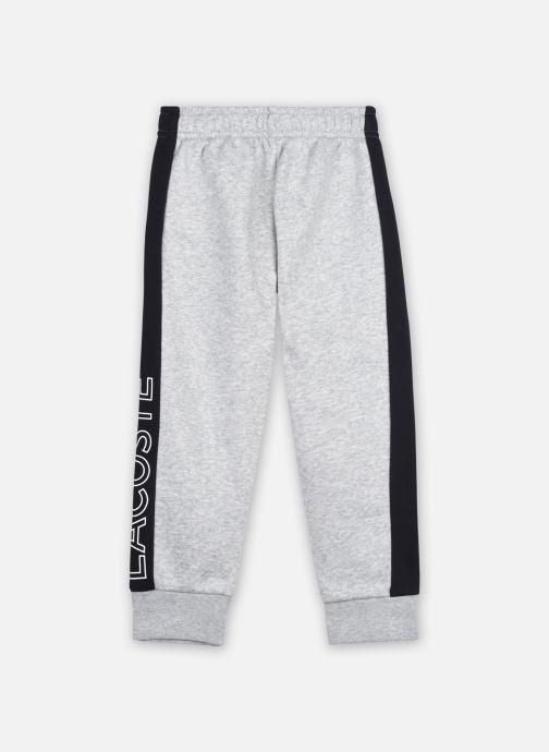 Vêtements Lacoste Pantalon Survêtement Enfant Xj12 Gris vue portées chaussures