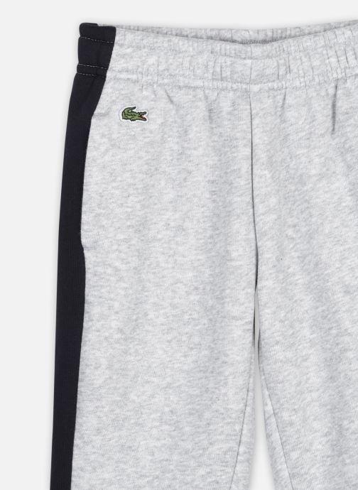 Vêtements Lacoste Pantalon Survêtement Enfant Xj12 Gris vue face