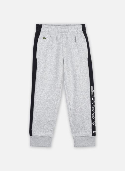 Vêtements Lacoste Pantalon Survêtement Enfant Xj12 Gris vue détail/paire