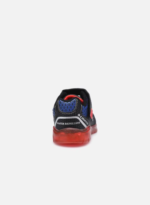 Deportivas Skechers Illumi-Brights Tuff Track Negro vista lateral derecha