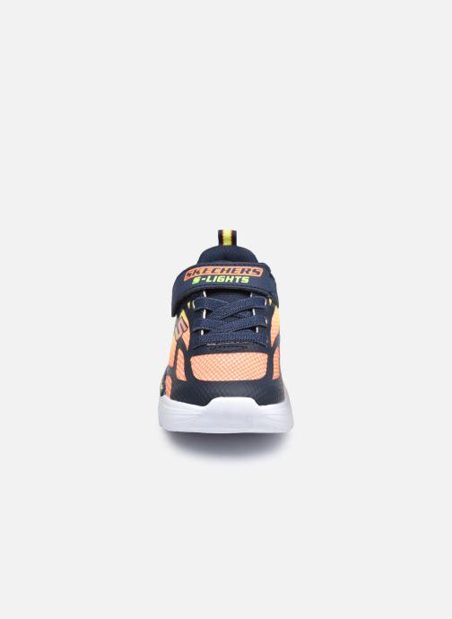 Baskets Skechers Flex-Glow Light Multicolore vue portées chaussures