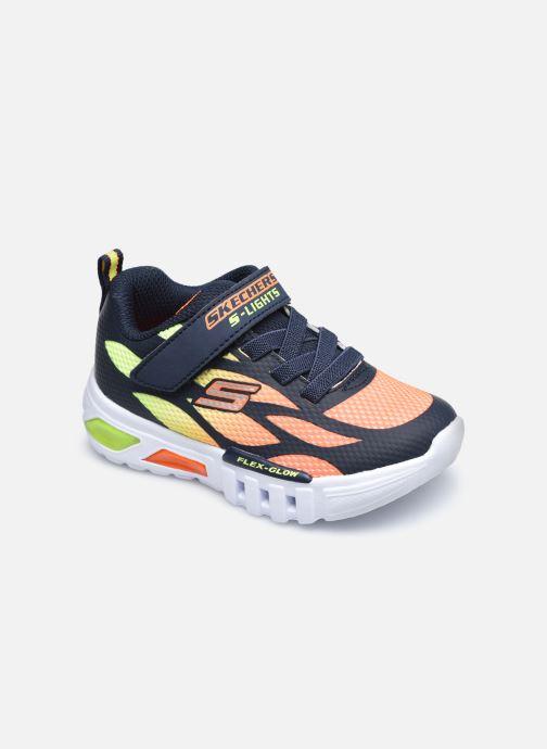 Baskets Skechers Flex-Glow Light Multicolore vue détail/paire