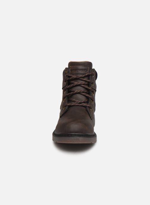 Bottines et boots Skechers Rivitz Gris vue portées chaussures