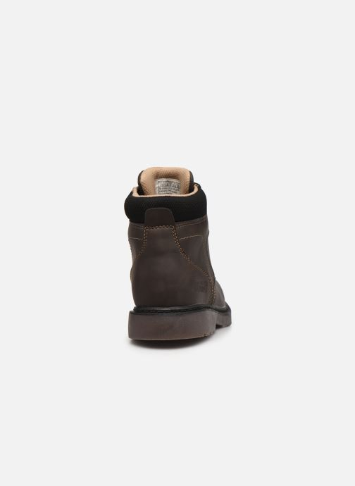 Bottines et boots Skechers Rivitz Gris vue droite
