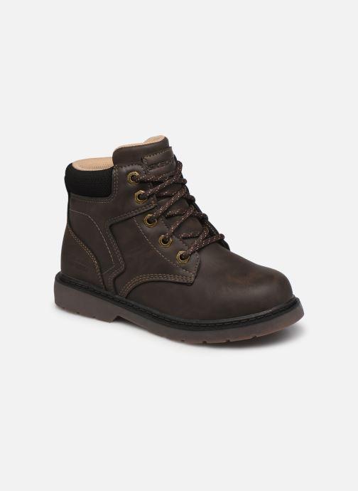 Bottines et boots Skechers Rivitz Gris vue détail/paire