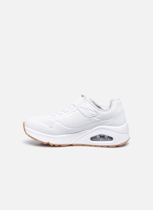 Sneakers Skechers Uno Air Blitz Bianco immagine frontale
