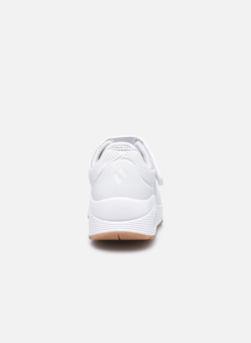 Sneakers Skechers Uno Air Blitz Bianco immagine destra