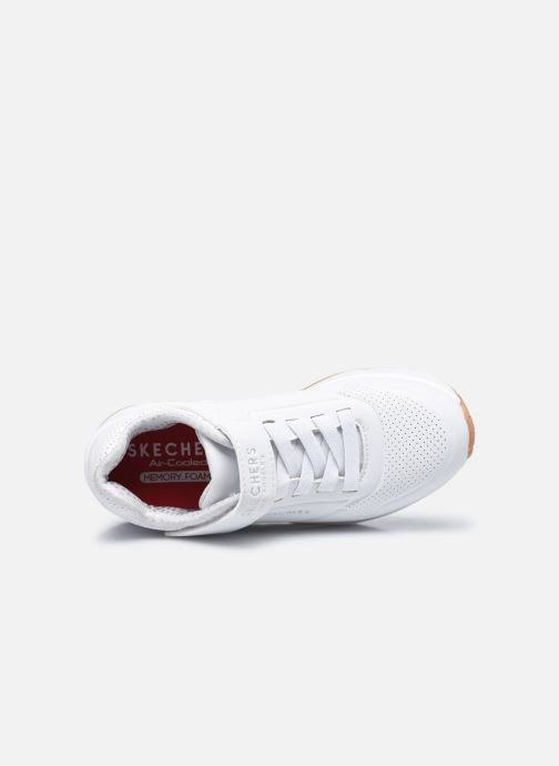Sneakers Skechers Uno Air Blitz Bianco immagine sinistra
