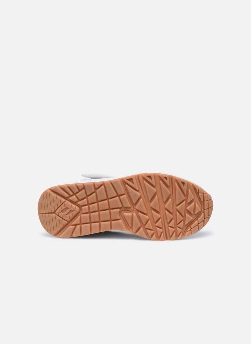 Sneakers Skechers Uno Air Blitz Bianco immagine dall'alto