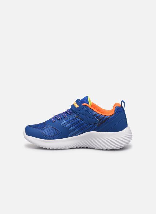 Sneakers Skechers Bounder K Azzurro immagine frontale