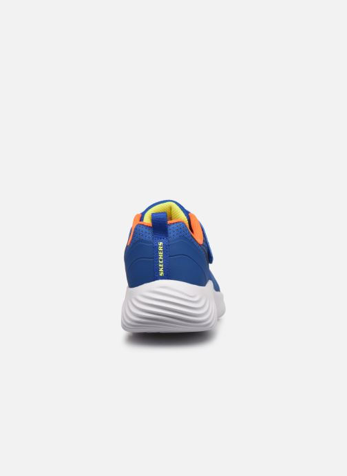 Sneakers Skechers Bounder K Azzurro immagine destra