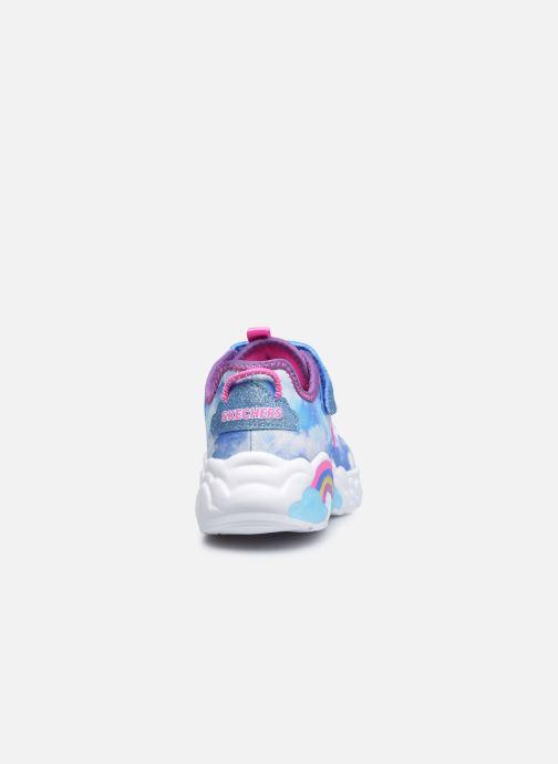 Sneakers Skechers Rainbow Racer Blå Se fra højre