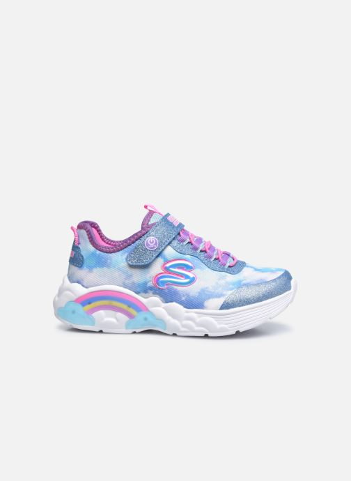 Sneakers Skechers Rainbow Racer Blå se bagfra