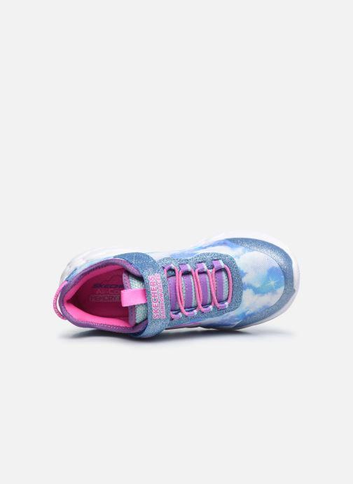 Sneakers Skechers Rainbow Racer Blå se fra venstre