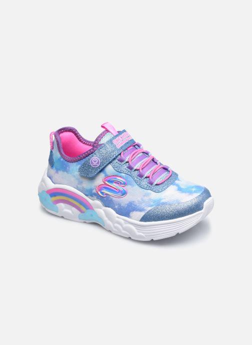 Sneakers Skechers Rainbow Racer Blå detaljeret billede af skoene